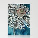 Flower Paintings: Lace Flower Stationery Cards