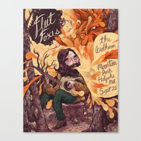 Fleet Foxes Poster Canvas Print