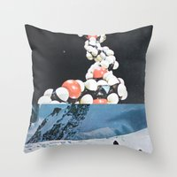 A Series Of Vibrations Throw Pillow