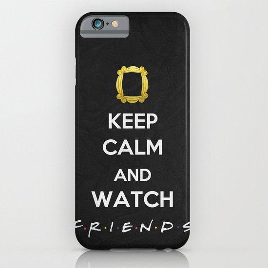 F.R.I.E.N.D.S - Keep Calm iPhone & iPod Case