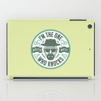 I'm the one who knocks iPad Case