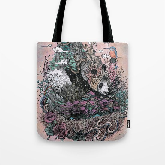 Land of the Sleeping Giant Tote Bag