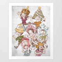 Merry Everything Art Print