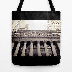 New York Stock Exchange Tote Bag