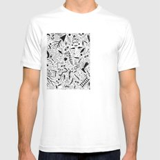 Curious Collection No. 9 Mens Fitted Tee SMALL White