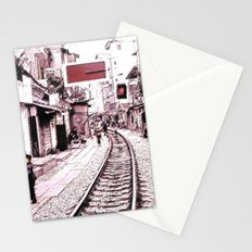 The train is coming soon.... Stationery Cards