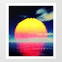 The Sun # 3 Art Print
