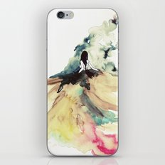 Rainbow dress iPhone & iPod Skin