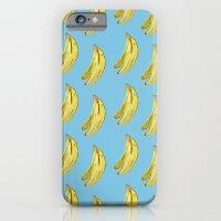Banana Watercolor iPhone 6 Slim Case