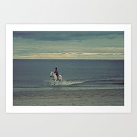 Nautica: Water Child Art Print