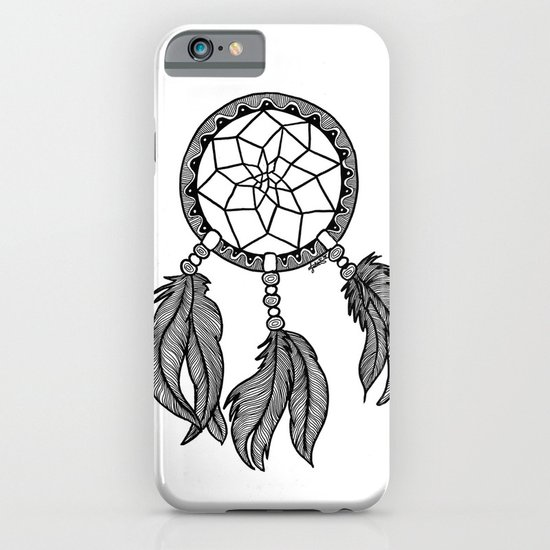 dreamcatcher white iphone case