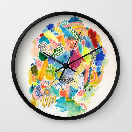 It's like a fucking awesome incredible dream Wall Clock