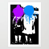 Twin Psychology Art Print