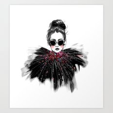 Lua // Fashion Illustration Art Print