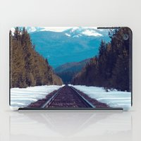 Train To Mountains iPad Case