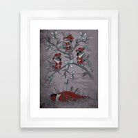 A Mission To Free A Coun… Framed Art Print