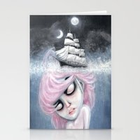 Underwater Hurt Stationery Cards