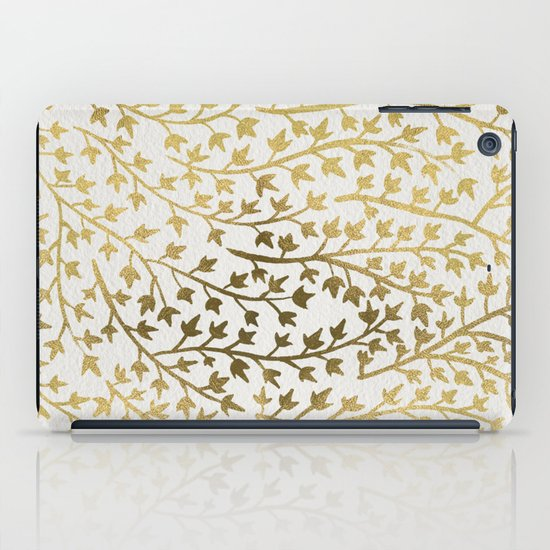 Gold Ivy iPad Case