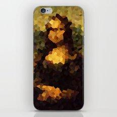Pixelated Mona Lisa iPhone & iPod Skin