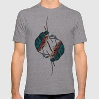 insects:love 01 Mens Fitted Tee Athletic Grey SMALL