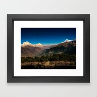 The Path That Is Beyond … Framed Art Print