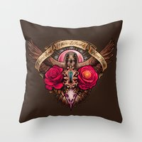 There Are Other Worlds Than These Throw Pillow