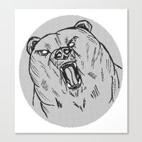 Burr Canvas Print