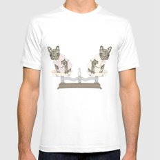 Las Lolas SMALL White Mens Fitted Tee