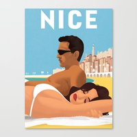 So Nice In Nice Canvas Print