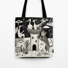 Scissors, String and Solitude  Tote Bag