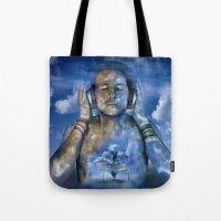 Music Love Tote Bag