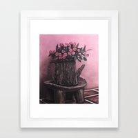 Trunk Pot Framed Art Print