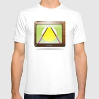 Kaleidoscope TV Version … Mens Fitted Tee White SMALL