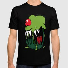 zombie cupcake SMALL Black Mens Fitted Tee