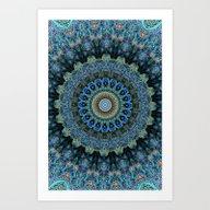 Art Print featuring Spiral Eye by Elias Zacarias