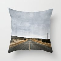 Hit The Road Throw Pillow
