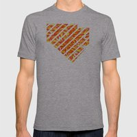 IRIE Mens Fitted Tee Athletic Grey SMALL