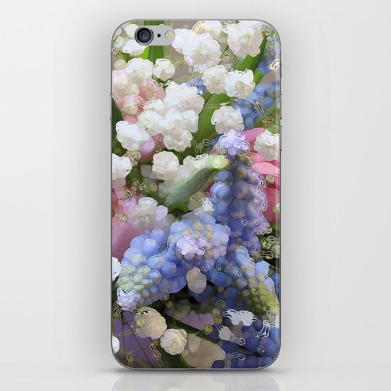 Spring Energy iPhone & iPod Skin