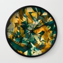 Raw Texture Wall Clock