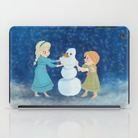 Do You Want To Build A Snowman? iPad Case