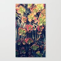 Fall Out Canvas Print