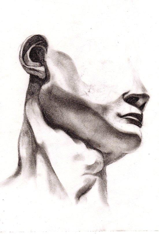 The Head of David Art Print