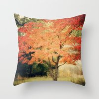 Garnet Throw Pillow