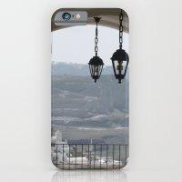 iPhone & iPod Case featuring Lighting Santorini, Greece by Alexis Kadonsky