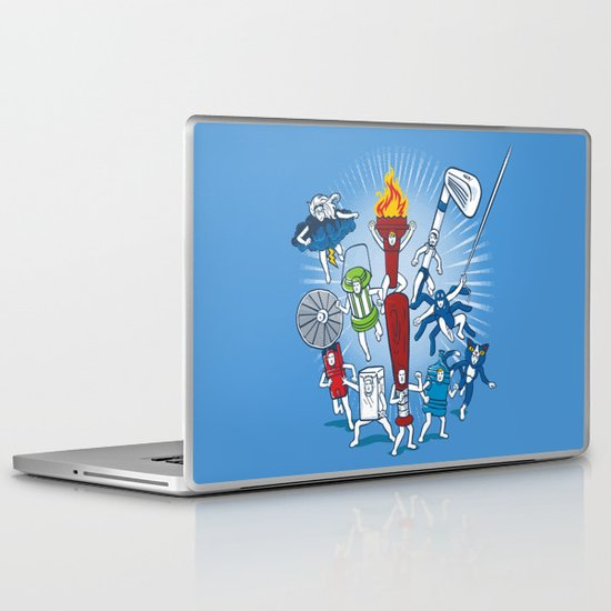Any resemblance is purely coincidental Laptop & iPad Skin