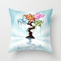 The Four Seasons Bubble … Throw Pillow