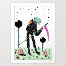 Annunaki Boi Art Print