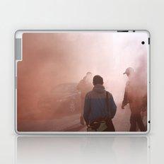 Red Smoke Streets Laptop & iPad Skin