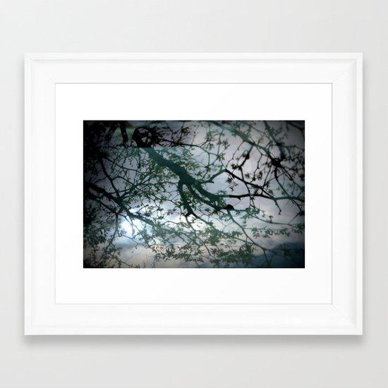 tree mystery Framed Art Print