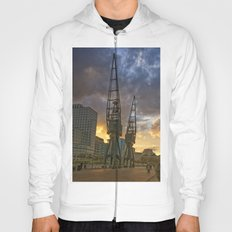 Docklands London Dusk Hoody